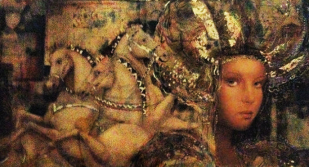 Horses of Carthage 1988 Limited Edition Print by Csaba Markus