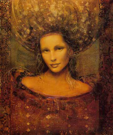Ladonna AP 1999 Embellished Limited Edition Print by Csaba Markus