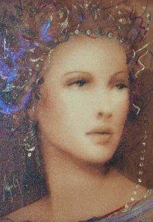 Beau Cynaria Embellished on Wood Limited Edition Print - Csaba Markus