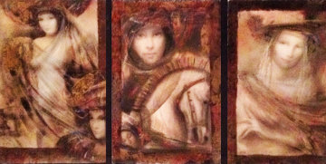 Corinthian Suite of 3  AP 2003 Limited Edition Print - Csaba Markus
