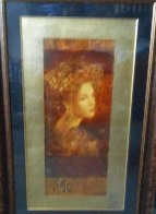 Constantina, Set of 2 Serigraphs 2000 Limited Edition Print by Csaba Markus - 3