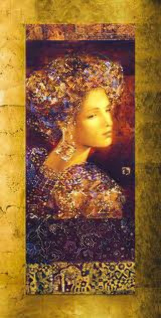 Constantina, Set of 2 Serigraphs 2000 Limited Edition Print by Csaba Markus