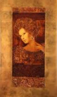 Constantina, Set of 2 Serigraphs 2000 Limited Edition Print by Csaba Markus - 1