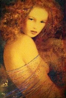 Giselle 1995 Embellished Limited Edition Print by Csaba Markus