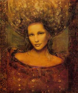 Ladonna 1999 Embellished Limited Edition Print by Csaba Markus