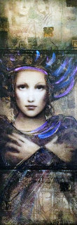 Semper Anemus 2013 Embellished Limited Edition Print by Csaba Markus