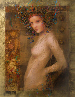 Athena Dreams 1997 Embellished  Limited Edition Print by Csaba Markus