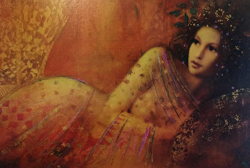 Waiting Embellished 2005 Limited Edition Print - Csaba Markus
