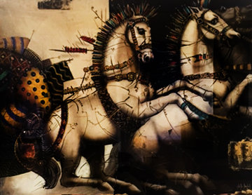 Equus  1990 Limited Edition Print by Csaba Markus