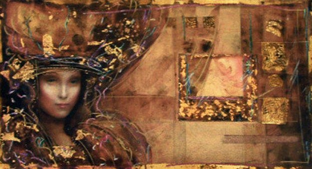 Lady of Alexandria 1995 Limited Edition Print by Csaba Markus
