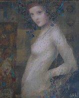 Athena Embellished 1990 Limited Edition Print by Csaba Markus - 0