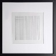 Untitled #6 Lithograph 1991 Limited Edition Print by Agnes Bernice Martin - 1