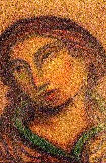 Carmelita 2005 34x25 Original Painting by Miguel Martinez