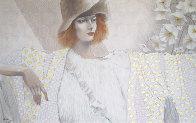 Blanche 30x48 Super Huge Original Painting by Jean-Paul Loppo Martinez - 0