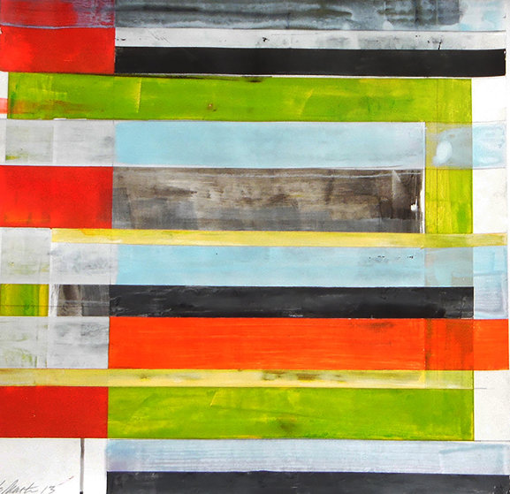 Untitled  Painting 2012 30x30 Original Painting by Lloyd Martin