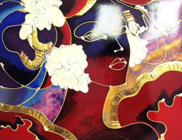 Golden Shimmer PP Embellished Limited Edition Print by Martiros Martin Manoukian