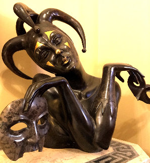 Contemplation Bronze Sculpture AP 2007 26 in Sculpture - Martin Martiros