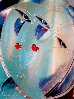 Breath of Fantasy 1991 36x48 Original Painting - Martiros Martin Manoukian