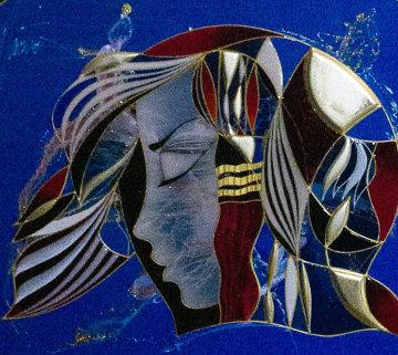 Reconciliation 2009 27x30 Original Painting - Martiros Martin Manoukian