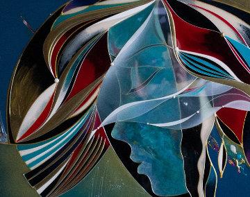 Last Memories 2009 26x30 Original Painting - Martiros Martin Manoukian