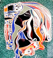 Untitled Mixed Media 2004 14x12 Works on Paper (not prints) by Martiros Martin Manoukian - 0