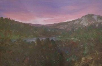 Evening State III 1993 22x32 Original Painting - Joel Masewich