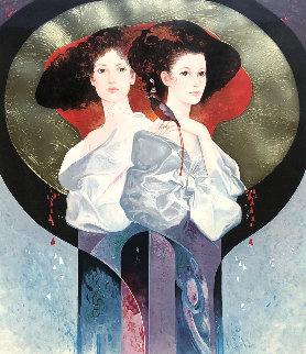 Harmony 1990 Embellished Limited Edition Print - Felix Mas
