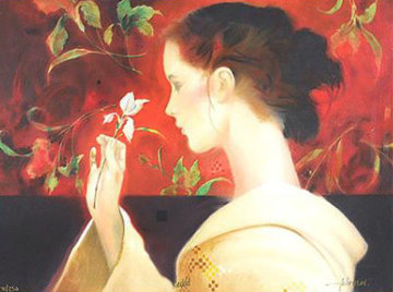 Orchid AP Limited Edition Print by Felix Mas