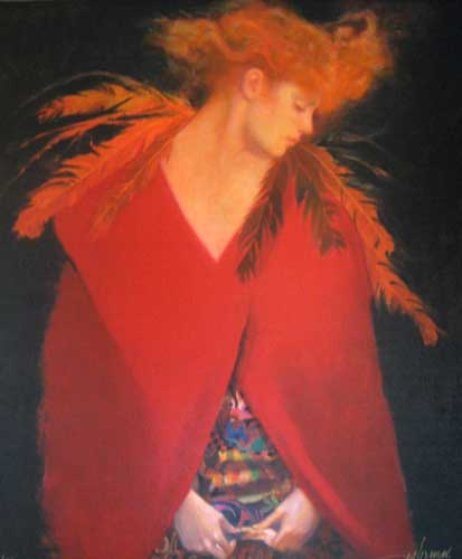 Scarlet Cloak 2006 Limited Edition Print by Felix Mas