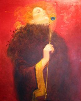 Opera Star 2003 32x25 Original Painting by Felix Mas