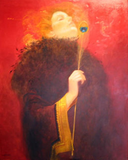 Cinderella 2015 76x48 Original Painting - Vladimir Mukhin