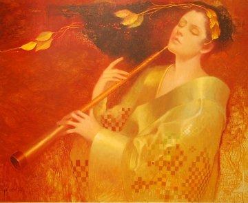 Concerto 36x42 Original Painting - Felix Mas
