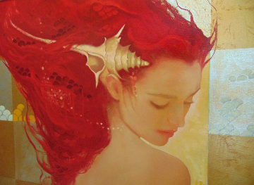 Sirena on Panel Limited Edition Print by Felix Mas