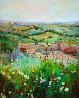 Al Fresco 2005 60x48 Super Huge Original Painting by Marie Massey - 0