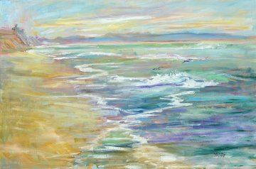 Homeward Bound  2015 24x36  Original Painting - Marie Massey