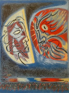 Crepuscle du Matim 1980 Limited Edition Print - Andre Masson