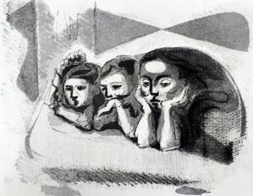 Bronte Sisters Limited Edition Print by Andre Masson