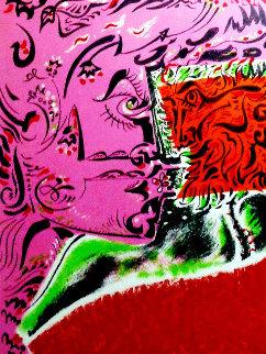 Dame Au Tounesol 1970 Limited Edition Print - Andre Masson
