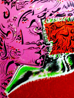 Dame Au Tounesol 1970 Limited Edition Print by Andre Masson