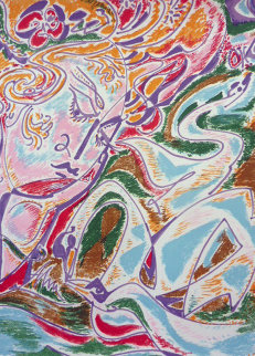 Leda 1971 Limited Edition Print - Andre Masson