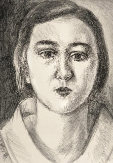 Jeune Fille Au Col D'organdie 1923 Limited Edition Print - Henri Matisse