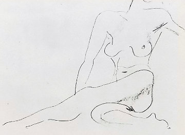 Nu Assis  First State  1929  Limited Edition Print - Henri Matisse