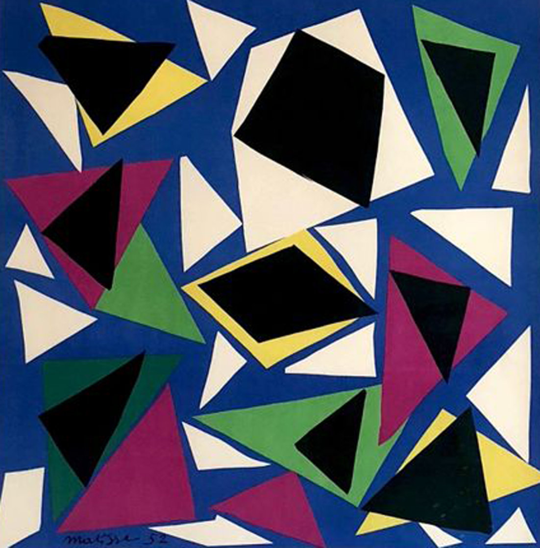 Rhythm of Color  PP 1952 Limited Edition Print by Henri Matisse