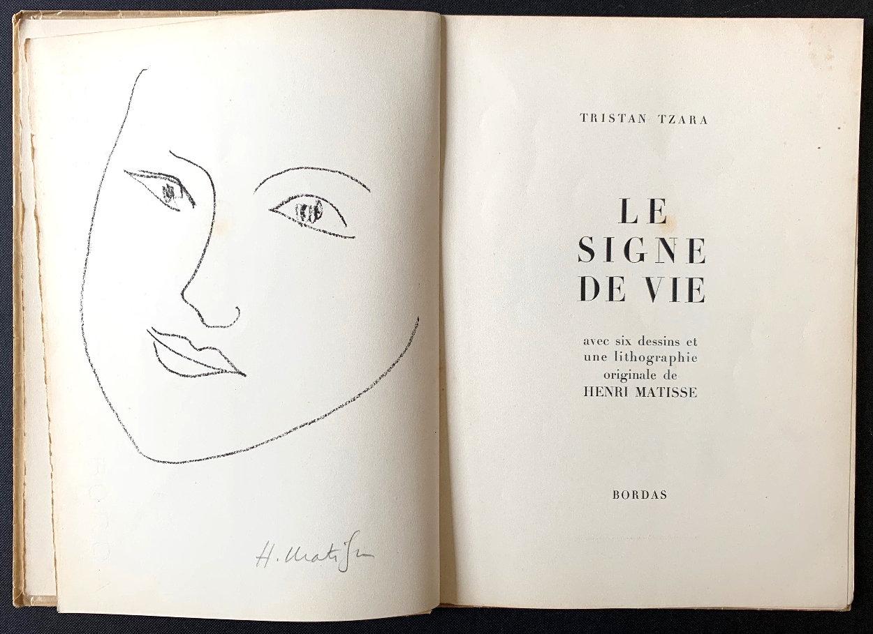 Le Signe De Vie Book 1948 HS Other by Henri Matisse