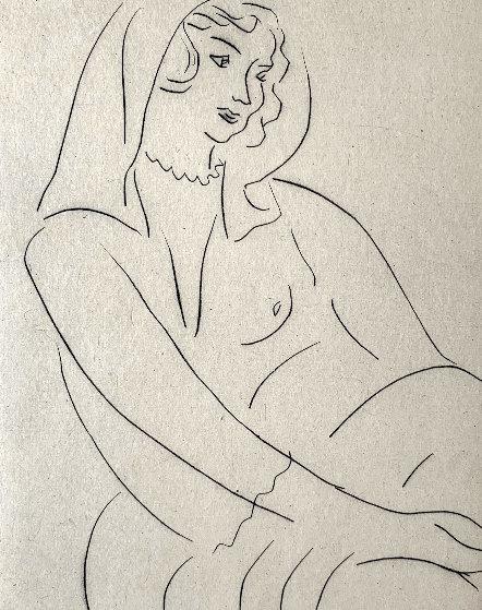 Jeune Femme, Voile Sur La Tete 1929  by Henri Matisse
