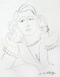 Lydia 1946 Limited Edition Print - Henri Matisse