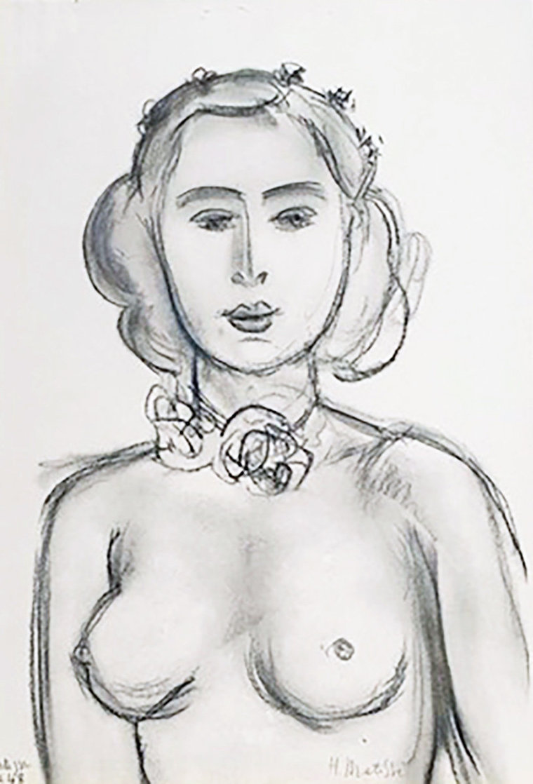 Lydia  1948 Limited Edition Print by Henri Matisse