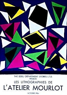 Atelier Mourlot Cut Outs 1987 Limited Edition Print - Henri Matisse