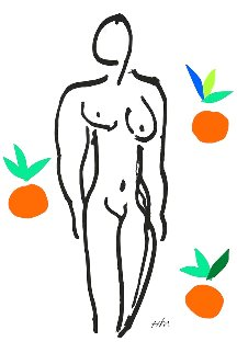 Le Nu Aux Oranges (Nude With Oranges) Limited Edition Print - Henri Matisse