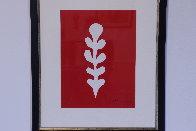 Palme Blanche Sur Fond Rouge 1970 Limited Edition Print by Henri Matisse - 2